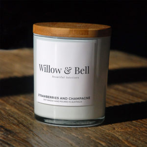 Strawberries and Champagne Soy Candle