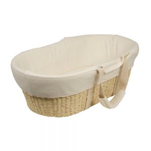 Natural Moses Baby Basket