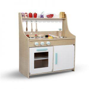 White Wooden Kitchen Playset