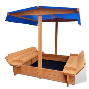 Kids Wooden Sand Canopy